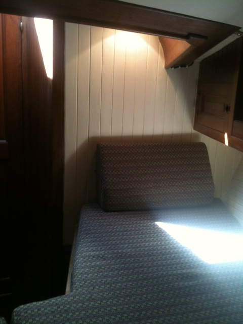 fwd cabin new bunk cushions